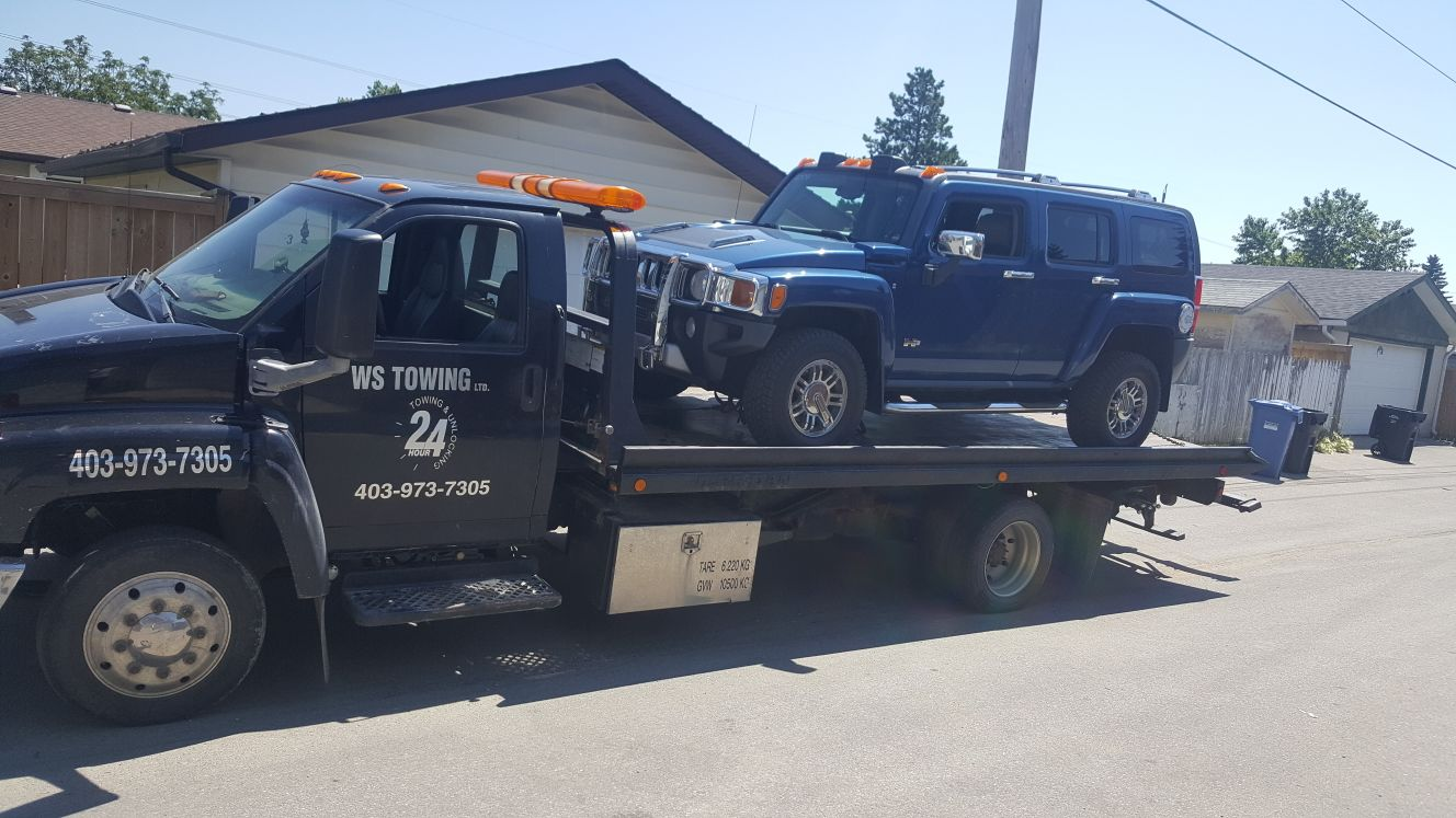 WS Towing Calgary - Professional Towing & Roadside Assistance